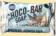 Barre de savon au chocolat