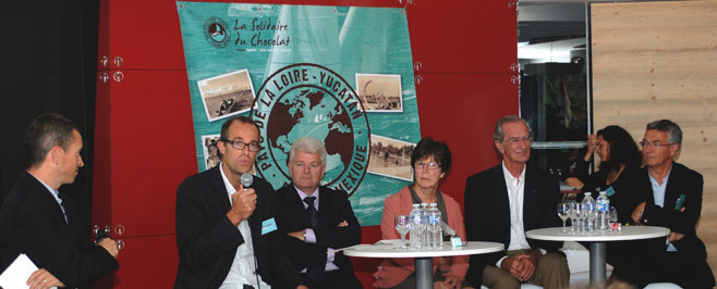 Conférence de Presse au Nantilus, Nantes   © Bruno Bouvry