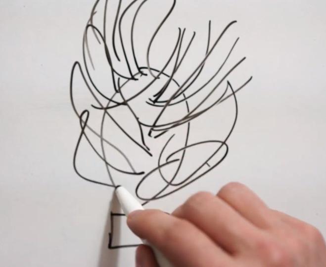 Comment faire un décor en chocolat flamme©ChocoClic.com