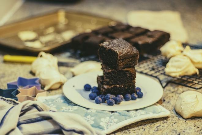 Recette de Pavé chocolat et amandes©