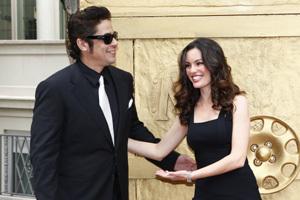 Benicio del Toro en charmante compagnie