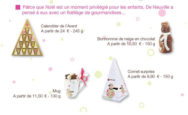 De Neuville sort sa collection de Noël 2011