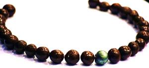Des colliers en chocolat à croquer !