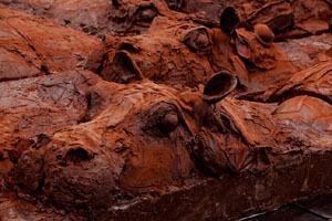 Et le désert avance... une expo choco Patrick Roger