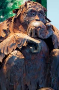 © Sculptures en chocolat de Patrick Roger