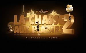 Magnum La Chasse aux Plaisirs 2 : Courez à New York, envolez-vous à Paris et surfez à Rio !