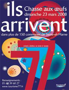 Chasse aux Œufs de Pâques Géante en Seine-et-Marne