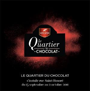 Le quartier du chocolat s'installe rue Saint Honoré à Paris