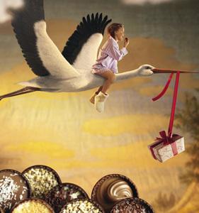 Mettez les papas et les mamans à l'honneur en leur offrant les créations chocolatées de Leonidas !