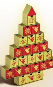 Pour Noël, Leonidas gâte les enfants, sages certes, mais gourmands et impatients !