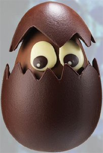 Pour Pâques, le maître-chocolatier Jean-Paul Hévin a imaginé un défilé de créatures des plus curieuses...
