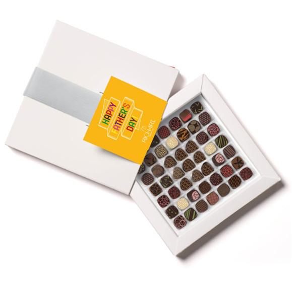 Papa intense Boîte de 49 chocolats fourrés