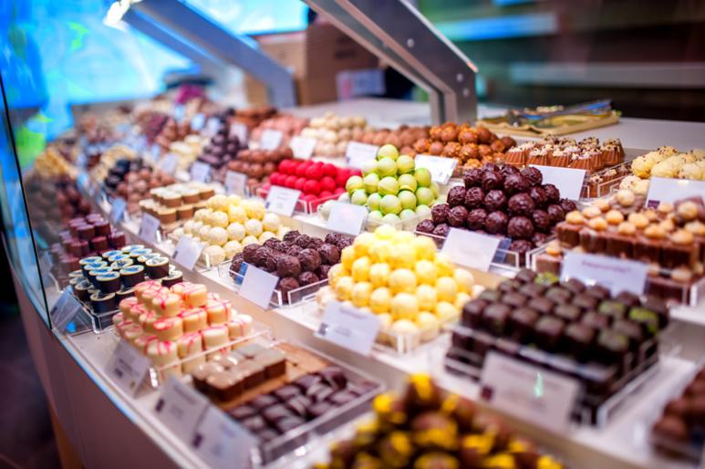 vente de chocolat