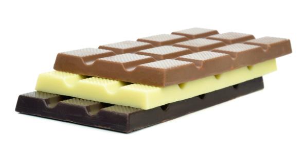 trois barres de chocolat