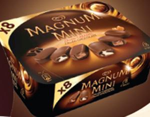 Magnum Mini Double x 8. Prix Marketing Conseillé*: entre 4,35€ et 4,49€