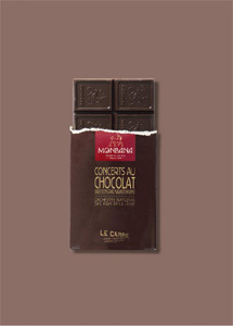 Les concerts au chocolat au Carré !