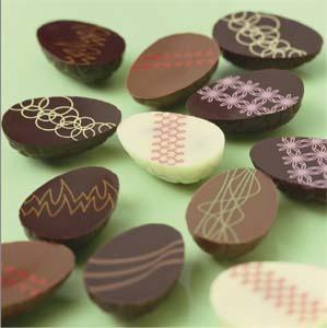 La Chasse aux œufs en chocolat a commencé dans le Jardin de Michel RICHART