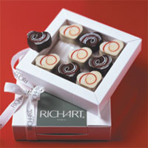 Saint valentin Fête de l'amour avec Richart