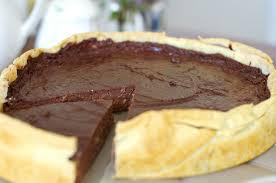 Flan au chocolat©