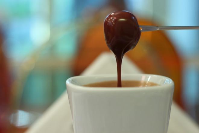 Glaçage au chocolat au lait©
