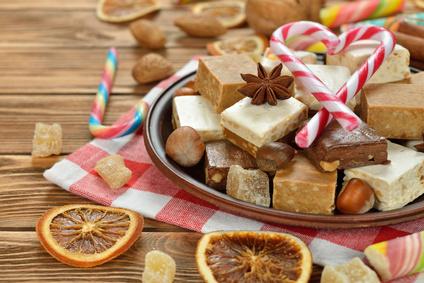 Nougat et chocolats©