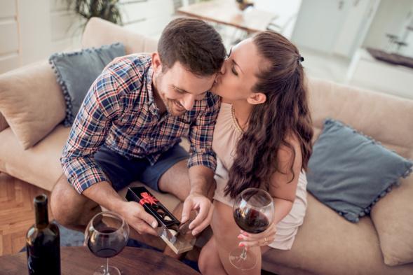 Dégustation en amoureux du vin et du chocolat