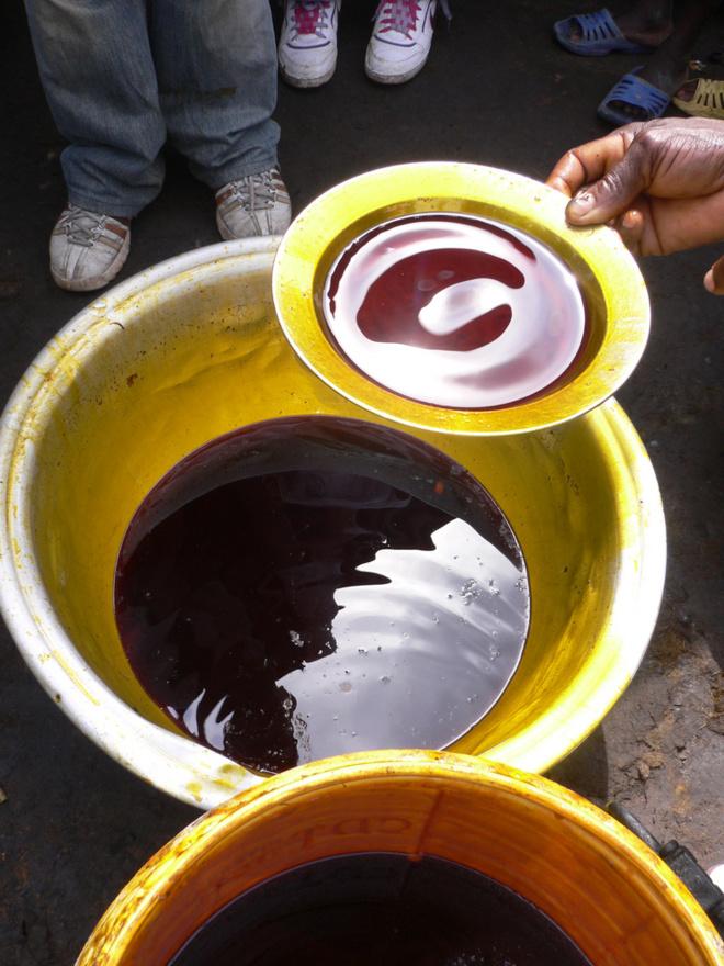 La production de l'huile de palme au Ghana©