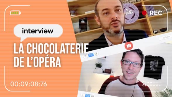 La chocolaterie de l'Opéra nous parle de DELTORA