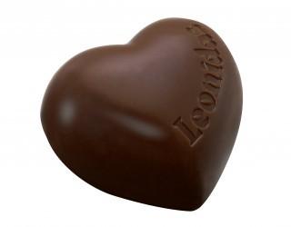 © Leonidas coeur chocolat