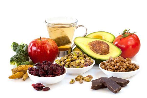 Aliments riche en antioxidants©