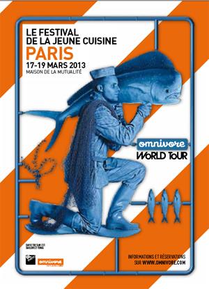 Fouets et fureur de vivre des 40 chefs et pâtissiers internationaux invités à OMNIVORE PARIS