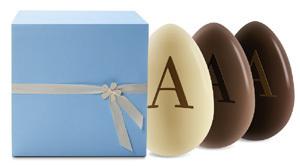 Les chocolats de Pâques chez ARMANI DOLCI