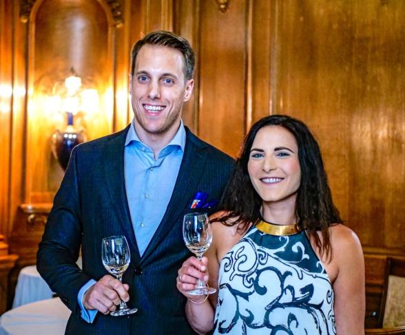 Déborah & Nicolas, fondateur de Sogno Vino
