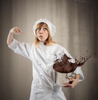 Cuisinière et chocolat©