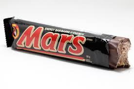 Bar de Chocolat Mars