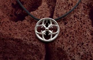 Collier Symbole d'Amour argent Par Boissonnet Design