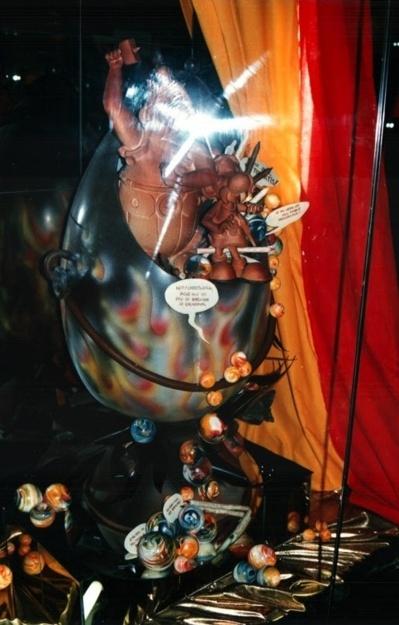 ©ChocoClic - Musée, Obélix et Astérix en chocolat