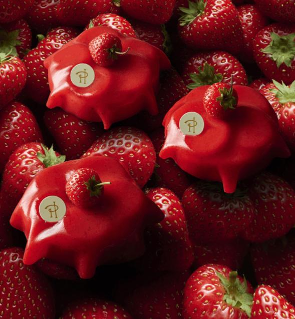 CONSTELLATION à la fraise en gourmandise raisonnée
