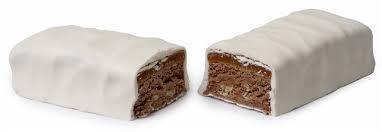 Barre chocolatée au chocolat blanc