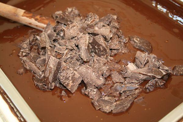 La préparation du chocolat©