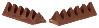 Barre de chocolat Toblerone