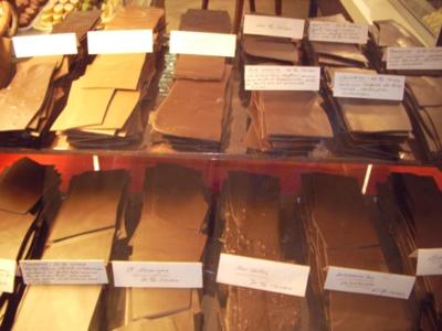 Barres de chocolat suisse