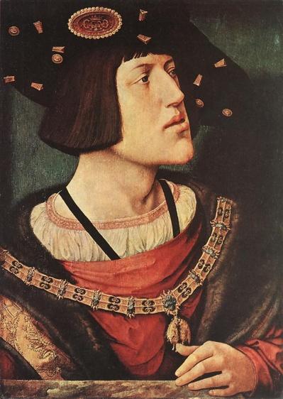 Portrait de Charles Quint vers1519, réalisé par l'artiste Bernard van Orley