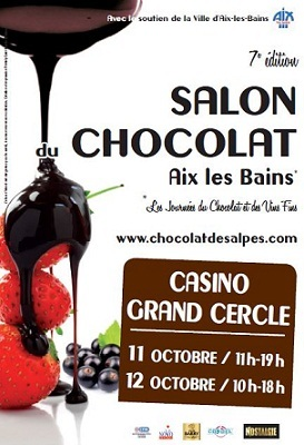 7e salon du chocolat aix les bains for Salon aix les bains