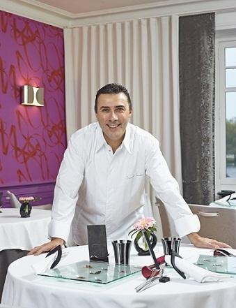 Laurent Saudeau, chef deux étoiles Michelin du Manoir de la Boulaie