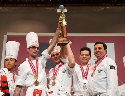 Le Championnat Européen de Pâtisserie