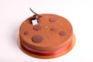 Mousse légère au chocolat, Crémeux croustillant au chocolat, Croustillant chocolat-praliné, et Biscuit croquant