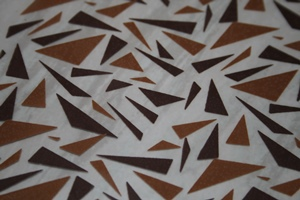 triangles en chocolat
