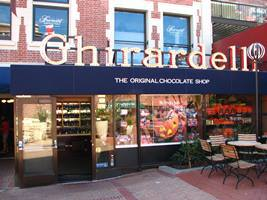 La boutique originelle Ghirardelli à San Francisco