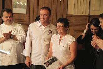 Arnaud Larher et Michèle Dugué 3ème prix